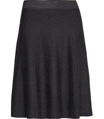 skirt knälång kjol svart noa noa