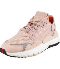 zapatilla rosa adidas originals nite jogger w