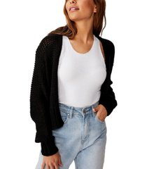 cotton on chunky cropped cardigan