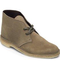 desert boot desert boots snörskor grön clarks originals