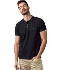 masculino exterior camiseta negro leonisa m2819