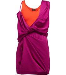 hybrid draped dress