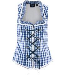 corsetto bavarese (blu) - bpc bonprix collection