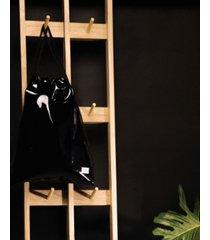 mochila negra cobalto black out