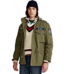 polo ralph lauren men's herringbone field jacket
