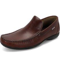 zapato marron preppy mocasin timberland imperial