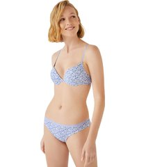 sujetador push up algodon topos multicolor women secret 4345029 copa-b1195