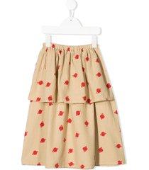 bobo choses gonne casual skirt - neutrals