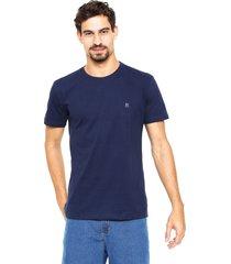 camiseta polo wear bã¡sica azul-marinho - azul - masculino - algodã£o - dafiti