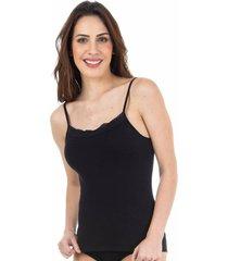 camiseta regata algodão egípcio preto - 578.031 marcyn lingerie camisetas preto