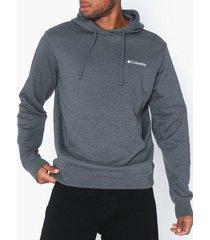 columbia viewmont ii sleeve graphic hoodie tröjor charcoal