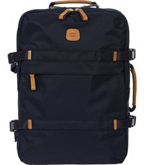 men's bric's x-travel montagna travel backpack - blue