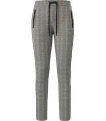 broek in jogg-pant-stijl pasvorm barbara van peter hahn multicolour