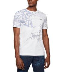 boss men's interlock-cotton t-shirt