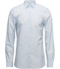 walker basic stretch overhemd business blauw calvin klein