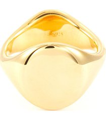 '2 face' signet ring