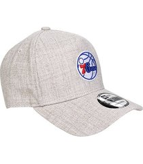 boné new era nba philadelphia 76ers essentials team aba curva