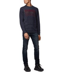 boss men's workup relaxed-fit sweatshirt
