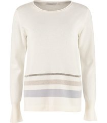 fabiana filippi wool, cashmere, silk blend sweater