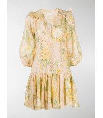 zimmermann amelie corset dress