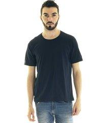 camiseta konciny manga curta básica 30503 azul marinho