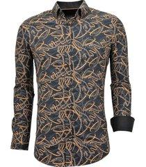 luxe stijlvolle overhemd