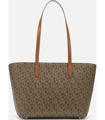 dkny women's bryant park medium tote bag - mocha