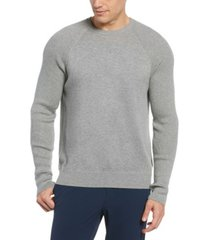 perry ellis men's cotton blend crew neck sweater