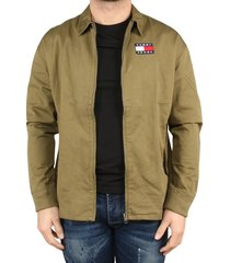 tommy hilfiger tj casual cotton jacket groen