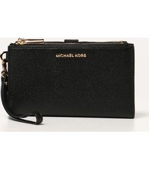 michael michael kors wallet michael michael kors wallet in textured leather