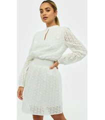 sisters point embroidered dress loose fit