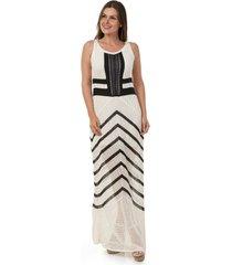 d22984625989 Vestidos - Decote Redondo - Tricô - Listra - 13 produtos com até ...