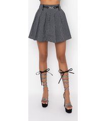 akira gabriela pleated mini skirt