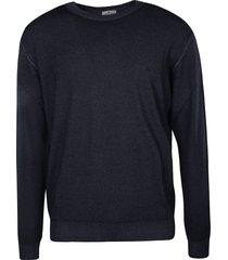 etro plain ribbed knit sweater