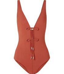 on the island by marios schwab one-piece swimsuits