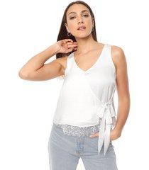blusa natural asterisco tónica