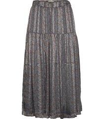cokko skirt lång kjol blå lollys laundry