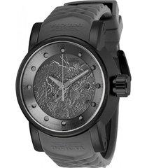 reloj invicta gris oscuro modelo 281ll para hombres, colección s1 rally