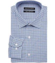 trim-fit check dress shirt