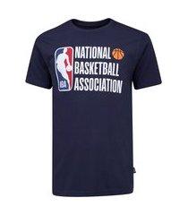 camiseta nba manga curta estampada n382a - masculina