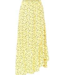 gonna a campana in viscosa sostenibile (giallo) - bodyflirt