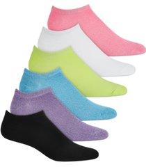 hue 6 pack super-soft liner socks
