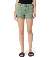 women's joe's the workwear shorts, size 30 - green