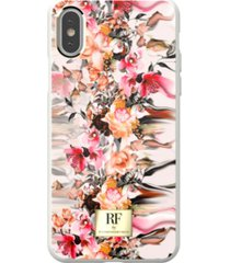 richmond & finch marble flower case for iphone xs max