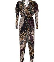 patterned jumpsuit