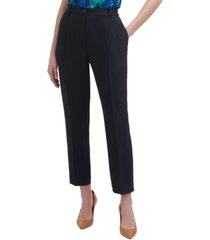 calvin klein slim elastic-back pants
