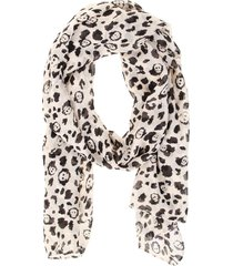 pashmina leopardo calavera fight for your right