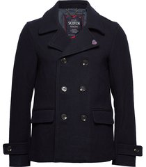classic caban wollen jack jack blauw scotch & soda