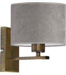 nowoczesna lampa ścienna elvora velvet