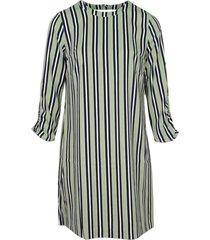 groen only onlrose 4/5 aop dress tlr jurk